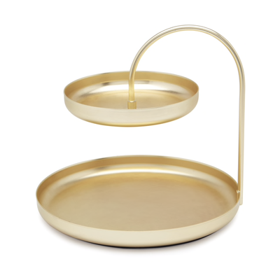 UMBRA POISE ACCESSORY TRAY BRASS
