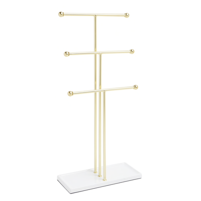 UMBRA TRIGEM JEWELRY STAND BRASS