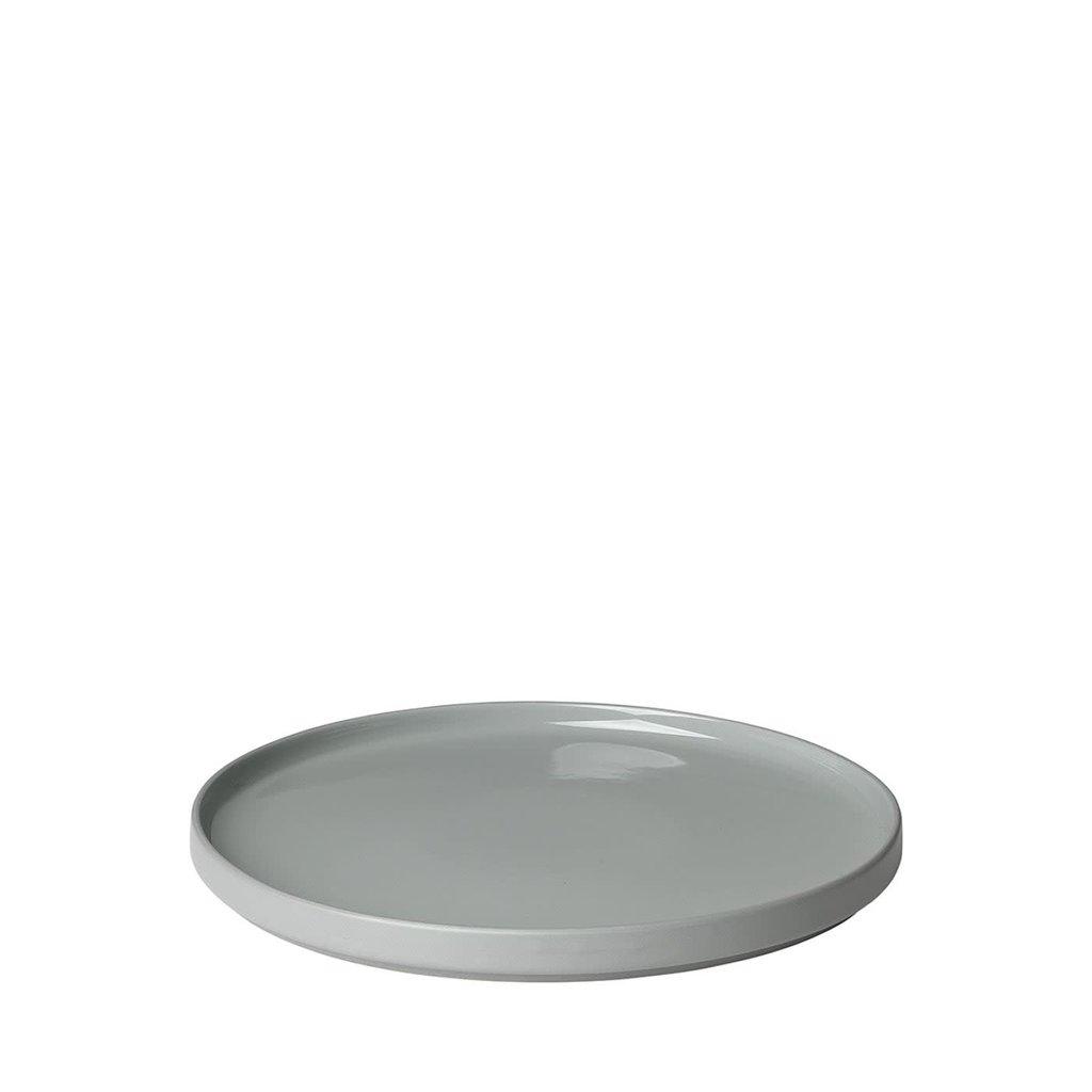 BS - MIO DESSERT PLATE 8 INCH SET OF 4 GRAY - 8''