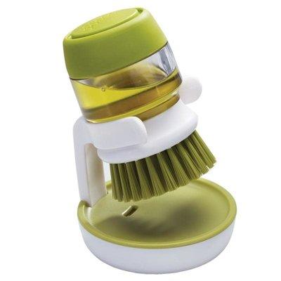 PALM SCRUB™ SOAP DISPENSING BRUSH