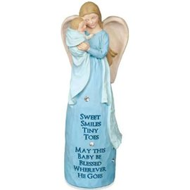 Angel - Jewels of Faith: New Baby, Blue