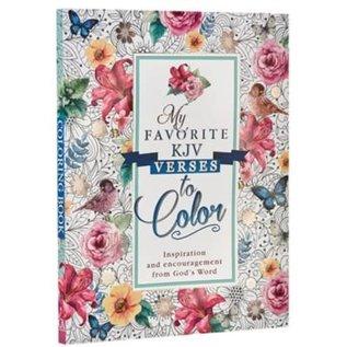 Coloring Book - My Favorite KJV Verses