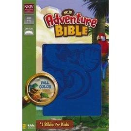 NKJV Adventure Bible, Ocean Blue Leathersoft