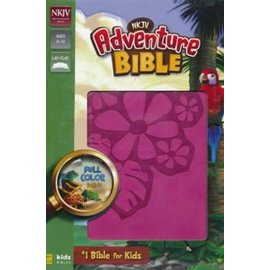 NKJV Adventure Bible, Raspberry Leathersoft