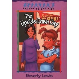 Cul-de-Sac Kids #23: The Upside-Down Day (Beverly Lewis), Paperback