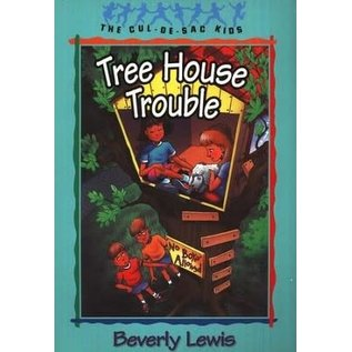 Cul-de-Sac Kids #16: Tree House Trouble (Beverly Lewis), Paperback