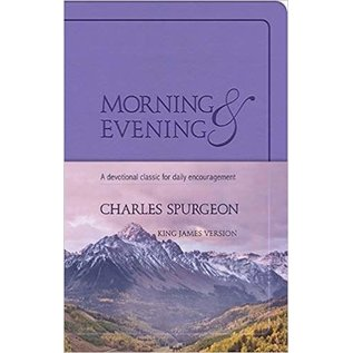 Morning and Evening, KJV Edition Lilac (Charles Spurgeon)