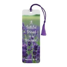 Bookmark - A Faithful Friend, Tassel