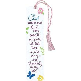 Bookmark - God Made You, Tassel