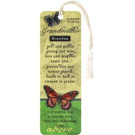 Bookmark - Grandmother, Tassel
