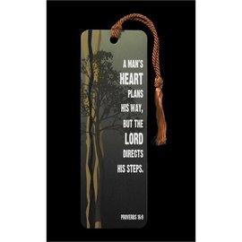 Bookmark - Proverbs 16:9, Tassel