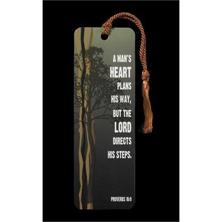 Bookmark - Proverbs 16:9, Tassel