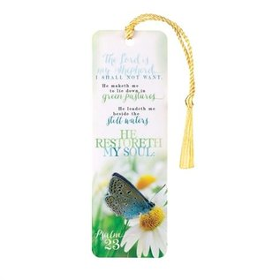 Bookmark - Psalm 23, Tassel
