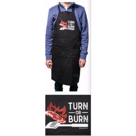 Apron - Turn Or Burn, Black