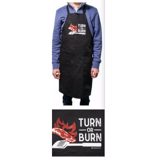 Apron - Turn Or Burn, Black
