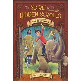 Secret Of The Hidden Scrolls #1: The Beginning (M.J.Thomas), Paperback
