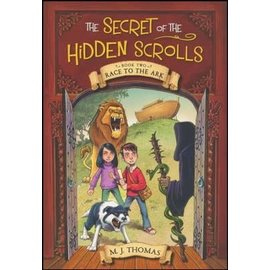 Secret of the Hidden Scrolls #2: Race to the Ark (M.J. Thomas), Paperback