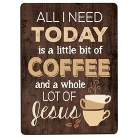 Magnet - Coffee and Jesus