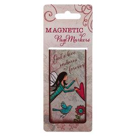 Magnetic Bookmark - God's Love Endures Forever, Large