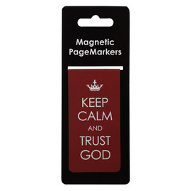 Magnetic Bookmark - Keep Calm, Large