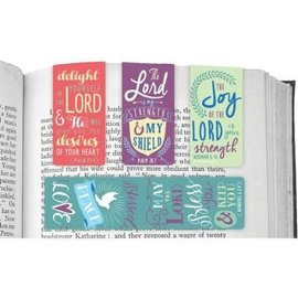 Magnetic Bookmarks - Delight in the Lord, 4 Pack