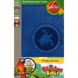 NIrV Adventure Bible for Early Readers, Blue Leathersoft