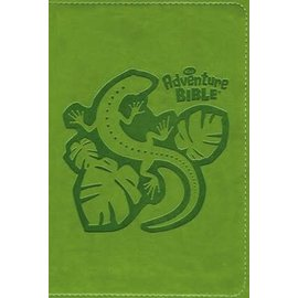 NIrV Adventure Bible for Early Readers, Green Leathersoft