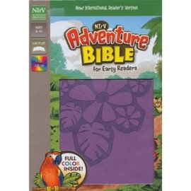 NIrV Adventure Bible for Early Readers, Purple Leathersoft