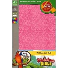 NIrV Adventure Bible for Early Readers, Pink Leathersoft