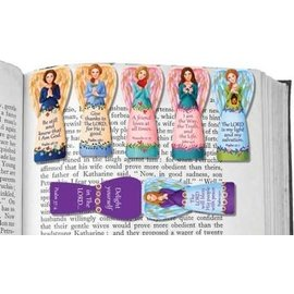 Magnetic Bookmark - Angels, 6 Pack
