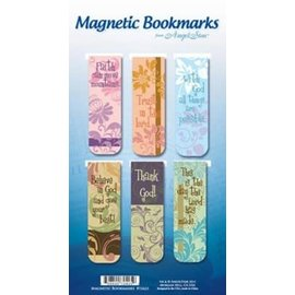 Magnetic Bookmark - Believe Trust, 6 Pack