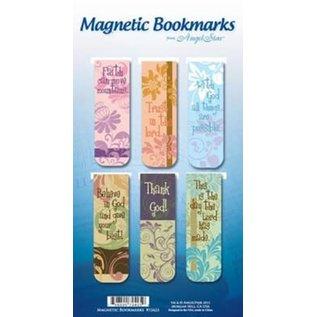 Magnetic Bookmark - Believe Trust, 6 Pack