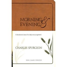 Morning and Evening, KJV Edition Tan (Charles Spurgeon)