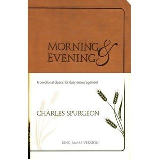 Morning and Evening, KJV Edition Tan (Charles Spurgeon)