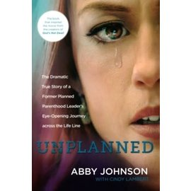 Unplanned (Abby Johnson), Paperback