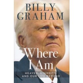 Where I Am (Billy Graham), Hardcover