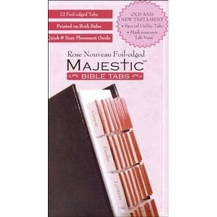 Bible Indexing Tabs - Majestic Rose