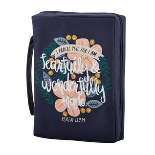 Bible Cover - Fearfully & Wonderfully Made, Large