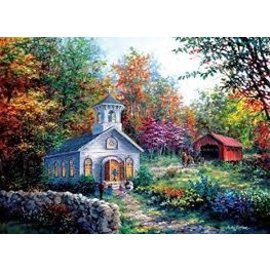 Puzzle - Worship in the Countryside, 1500 Pieces