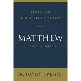 Jeremiah Bible Study Series: Matthew (David Jeremiah), Paperback