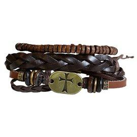 Bracelet - Faith Gear, Gold Cross