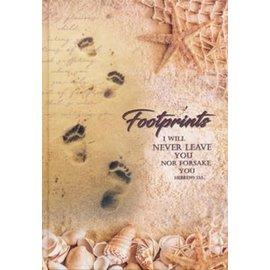 Journal - Footprints, Hardcover