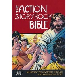 Action Storybook Bible, Hardcover