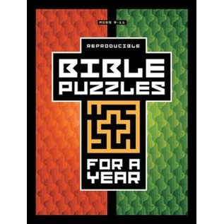 Bible Puzzles for a Year (Reproducible)