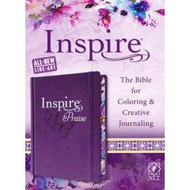 NLT Inspire Praise Bible, Hardcover
