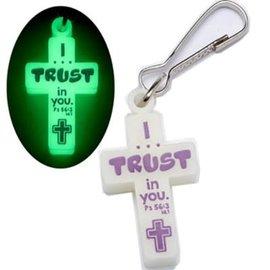 Zipper Pull - I Trust in You
