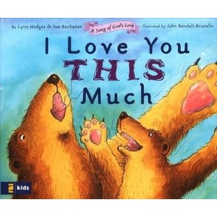 Board Book - I Love You this Much