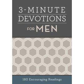 3-Minute Devotions for Men, Paperback