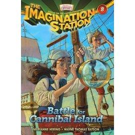 Imagination Station #8: Battle for Cannibal Island (Marianne Hering, Wayne Batson), Paperback