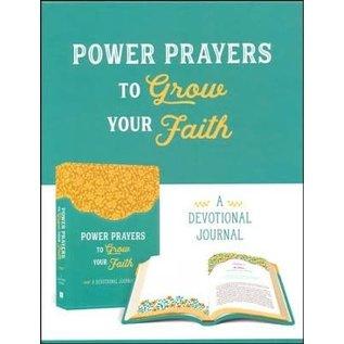 Power Prayers to Grow your Faith, Devotional Journal